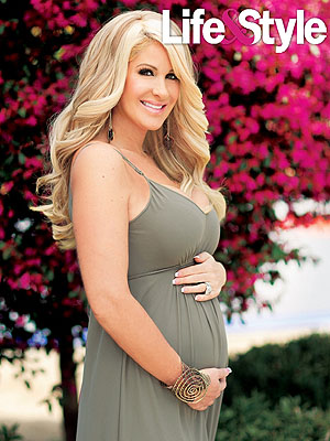 Zolciak is four-months-along. (Life & Style)