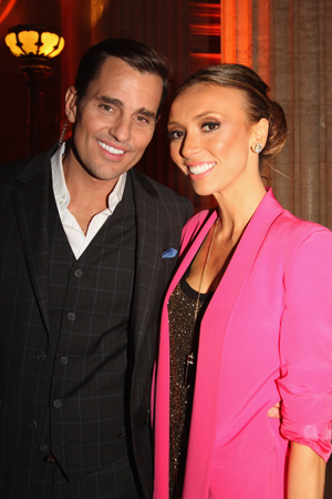 Proud new parents Giuliana and Bill Rancic (Getty Images)