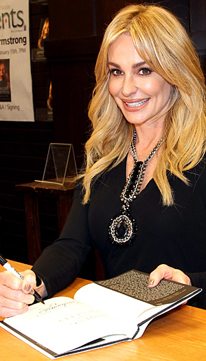 Taylor Armstrong promoted her new book on Wednesday. (Jonathan Leibson/FilmMagic)