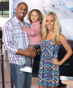 Wilkinson and her family in April (Frederick M. Brown/Getty Images)