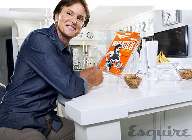 Jenner still eats his Wheaties. (Jeff Minton)