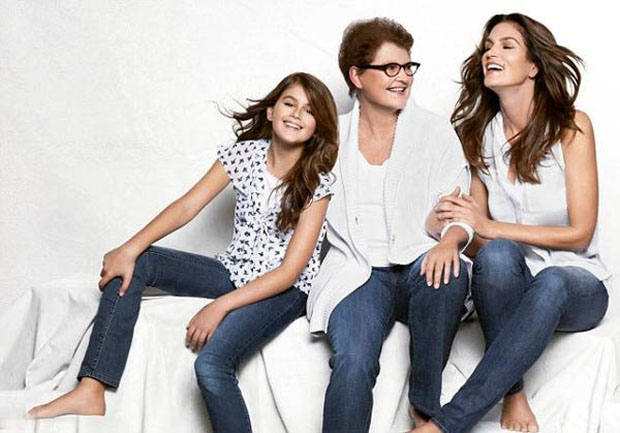 Kaia, Cindy, and her mother Jennifer. (JCPenneys)