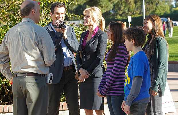 Bowen acts alongside her 'Modern Family' clan. (ABC/PETER HOPPER STONE)