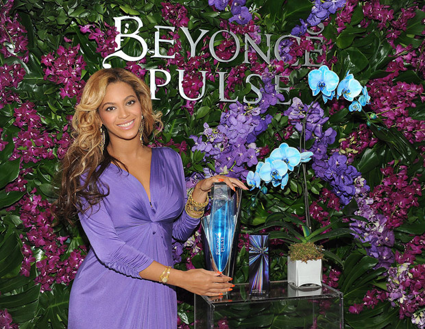 Beyonce celebrated the launch of her latest fragrance, Pulse, in New York recently. - Frank Micelotta/PictureGroup