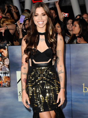 Perri at the Breaking Dawn -- Part 2 premiere. (Albert L. Ortega/Getty Images)