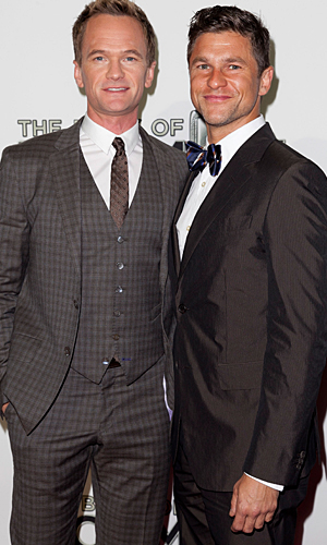 Neil Patrick Harris and David Burtka hit the red carpet. (WireImage)