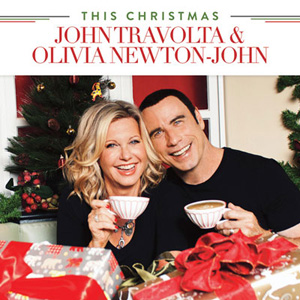 Travolta and Newton-John's album cover.