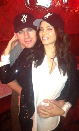 Channing Tatum and Jenna Dewan-Tatum on Christmas Day (WhoSay)