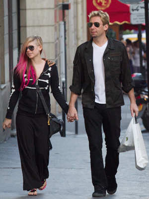 Lavigne and Kroeger (Marc Piasecki/FilmMagic)