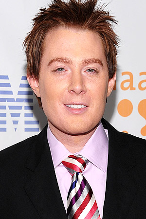 Clay Aiken at an appearance in 2009 (Dimitrios Kambouris/WireImage)