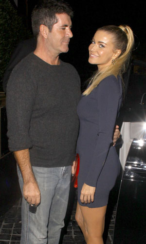 Cowell and Electra. (Josephine Santos/PacificCoastNews.com)