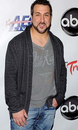 Joey Fatone talks to omg!. (Ethan Miller/Getty Images for AEG Live)