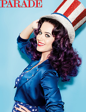 Katy Perry appears on the cover of Sunday's Parade (Matt Jones)
