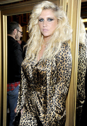 Ke$ha (Getty Images for Versace for H&M)