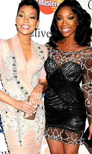 Monica and Brandy. (Gregg DeGuire/PictureGroup/Getty Images)