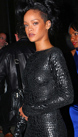 Rihanna. (Splash News)