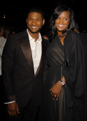 Usher and Tameka Foster in happier times (Mark Sullivan/WireImage)