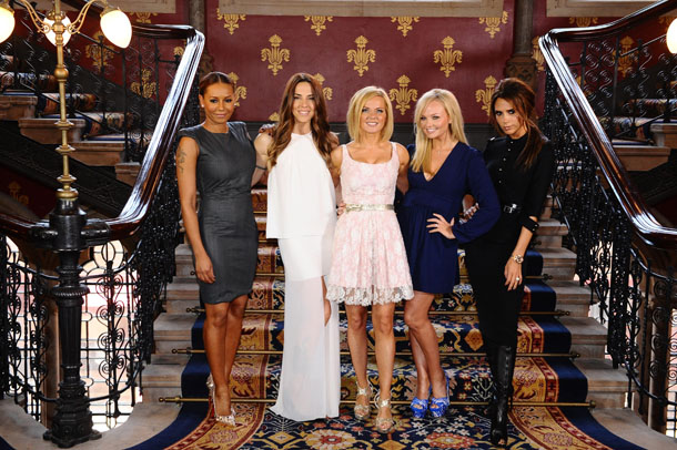 The Spice Girls on June 26 in London (AP Photo/PA, Ian West)
