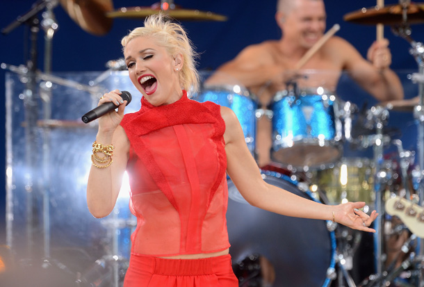 Gwen Stefani on GMA (Getty Images)