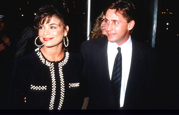 Paula and her first husband, Emilio Estevez. (Barry King/Wireimage)