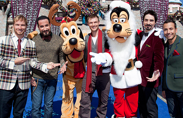 BSB visit the happiest place on earth. (Getty Images)