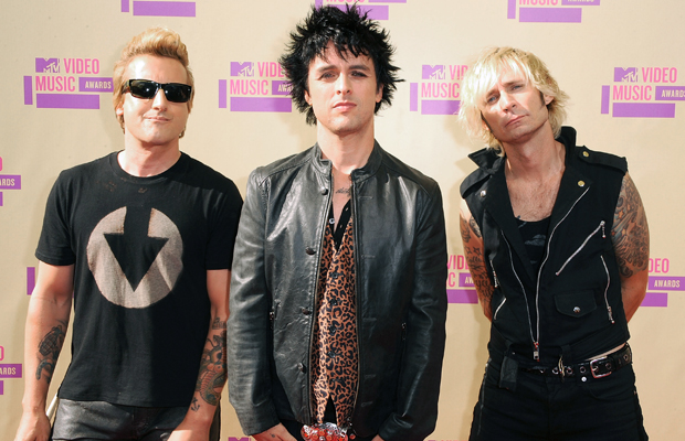 Green Day: Tre Cool, Billie Joe Armstrong, and Mike Dirnt. (Steve Granitz/WireImage)