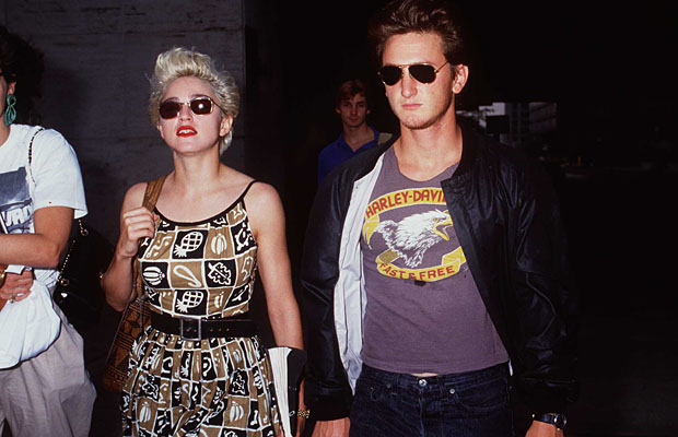 Madonna and Sean Penn in 1986. (Brenda Chase/Getty Images)