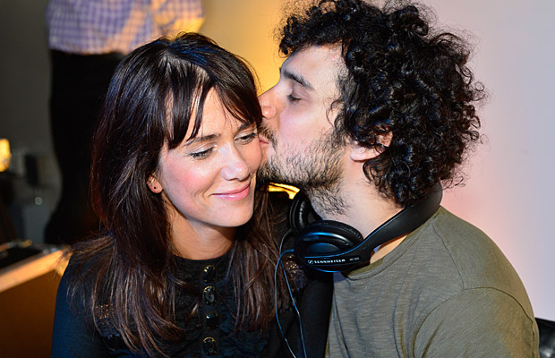 Kristen Wiig and Fabrizio Moretti on July 30 (Steve Jennings/WireImage)