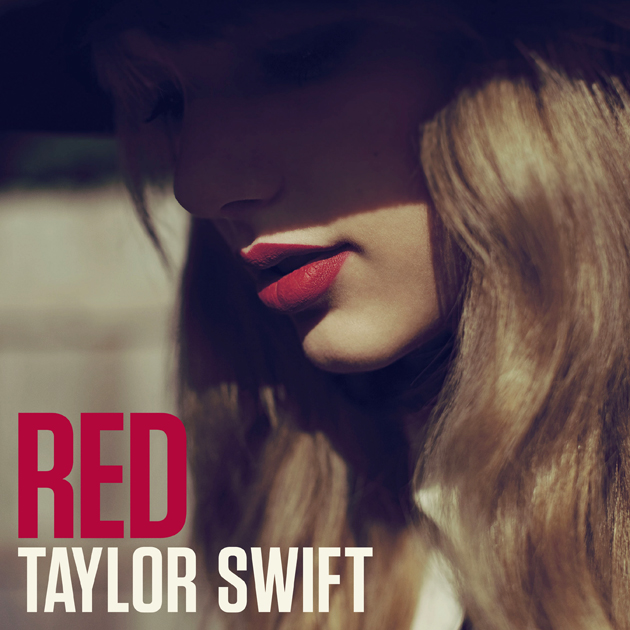 Swift matches her lipstick to her album title. (Big Machine)