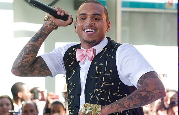 "Over 18,000 people came out to see Chris Brown perform on the ""Today"" show in New York's Rockefeller Plaza on Friday. - Gilbert Carrasquillo/FilmMagic.com"