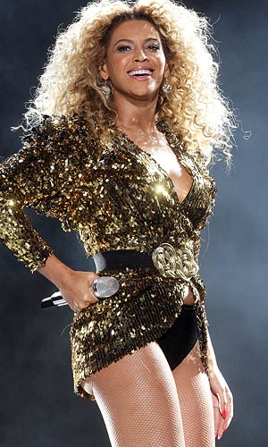 Beyonce rocks the Glastonbury Music Festival in England. - Dave J Hogan/Getty Images