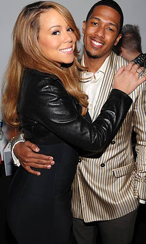 New parents Mariah Carey and Nick Cannon renewed their wedding vows just a day after the birth of their twins. - Dimitrios Kambouris/Getty Images