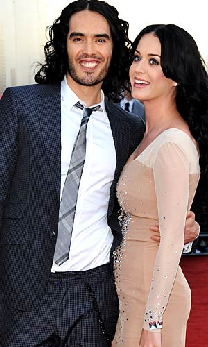 Russell Brand and Katy Perry are ready to move on ... to another home that is. - Jon Furniss/WireImage.com