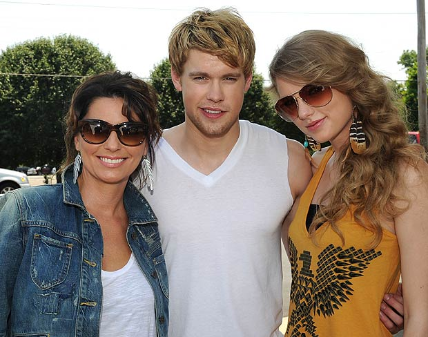 "The gals are joined by ""Glee's"" Chord Overstreet, whose father Paul Overstreet is a well-known country music singer-songwriter. - Rick Diamond/Getty Images North America"