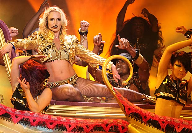Britney Spears is hitting the road this summer on her Femme Fatale tour. - Splash News