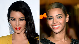 Kim Kardashian Bonds with Beyonce in Atlantic City