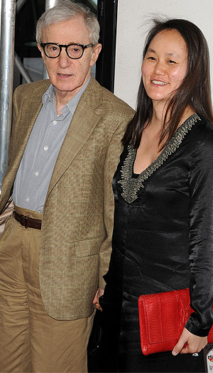 Woody Allen and wife Soon-Yi today.Steve Granitz/WireImage