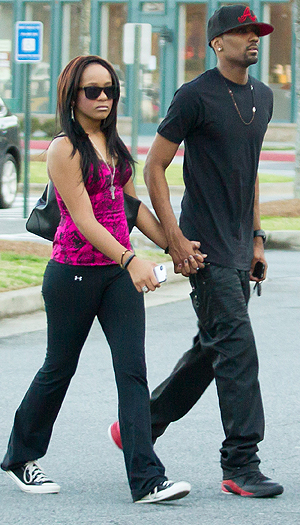 Bobbi Kristina and Nick are an item. (Credit: SDFL/Splash News)