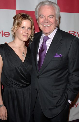 Courtney with her father Robert in 2007 (Stephen Shugerman/Getty Images for In Style)