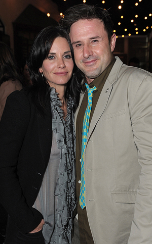 Arquette and Cox in 2010 (Jordan Strauss/WireImage)