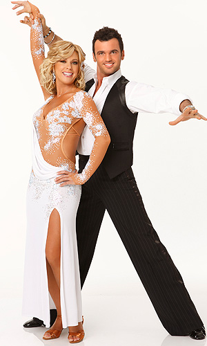 Gosselin and Dovolani on DWTS. (James Devaney/WireImage)
