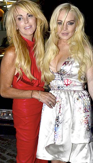 Dina Lohan confirms that Lindsay will pose in Playboy. Alo Ceballos/FilmMagic.com