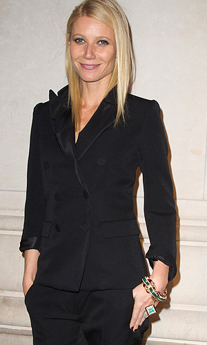 Paltrow too good to walk? (Dominique Charriau/WireImage)