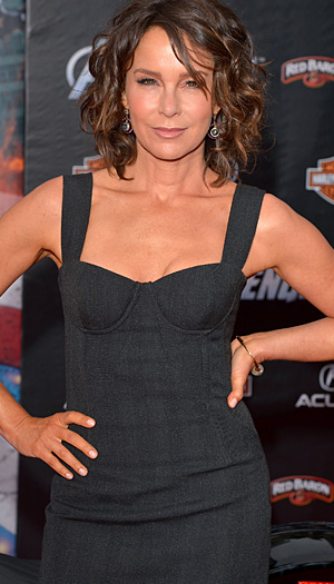 Jennifer Grey talks to omg!. Lester Cohen/WireImage