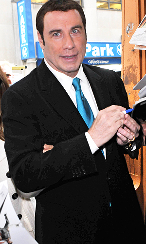 Travolta was reportedly banned from a NYC hotel spa. (J.B Nicholas / Splash News)