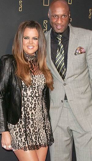 Khloe and Lamar at the opening of Scott Disick's new restaurant in NYC last week (Jim Spellman/WireImage)
