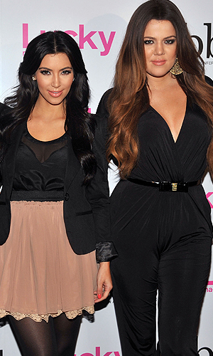Kim and Khloe. (Henry S. Dziekan III/WireImage)