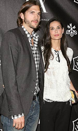 Ashton Kutcher and Demi Moore (Jim Spellman/WireImage.com)
