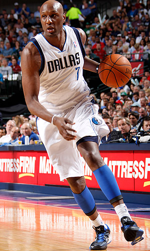 Odom as a Maverick. (Glenn James/NBAE via Getty Images)