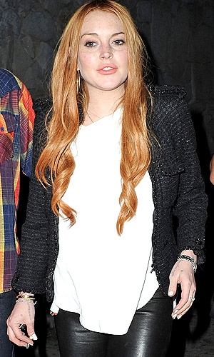 Lohan is at it again. (PacificCoastNews.com)